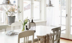 white-swedish-dining-room