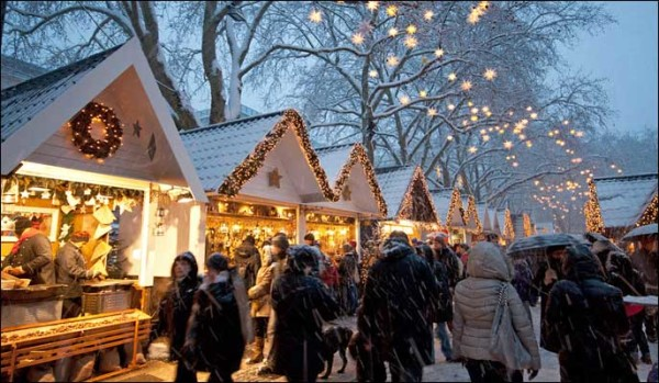 london christmas markets