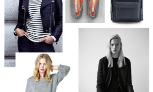 scandinavian fashion black and white