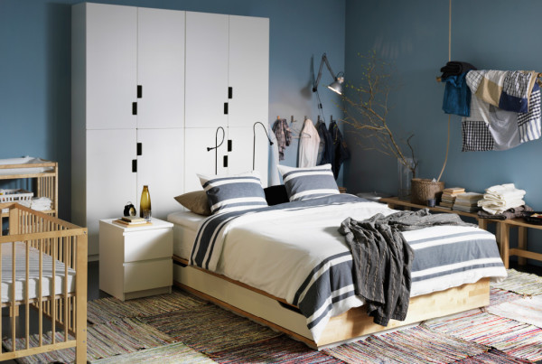 ikea bedroom grey