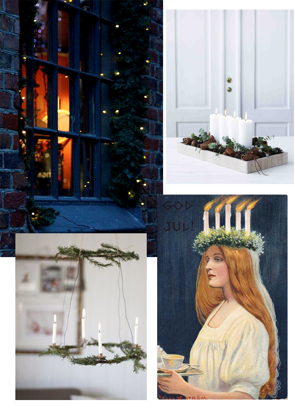 scandinavian advent christmas