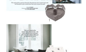 Scandinavian Christmas in White and Grey