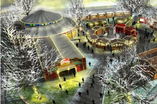 London Christmas markets, Leicester Square