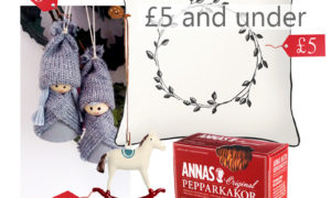 secret santa five pounds budget, christmas inspiration