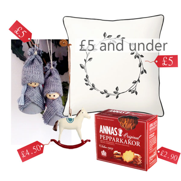 secret santa five pounds budget, christmas inspiration