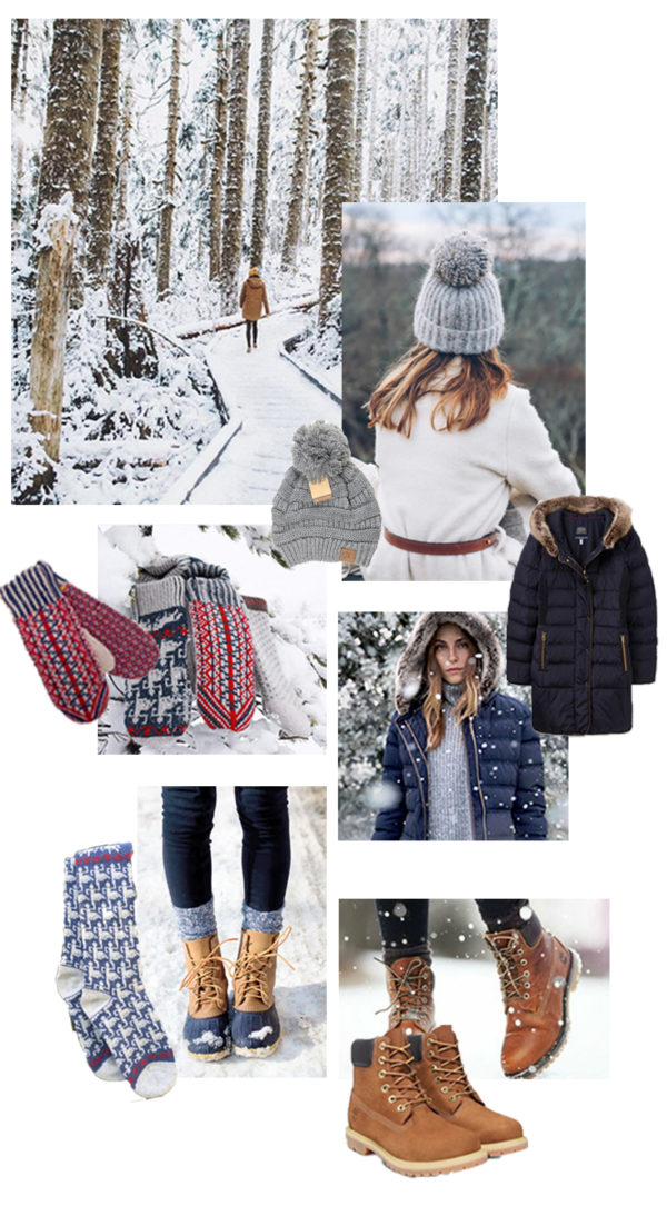 winter wardrobe inspiration for snow