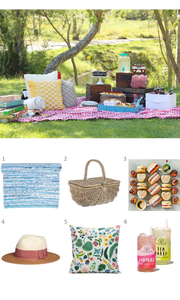 A perfect Scandi spring picnic