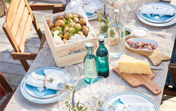 5 steps towards a scandinavian midsummer table spread