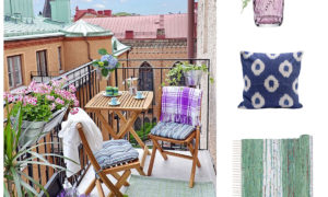 July Hot List - A Swedish summer balcony