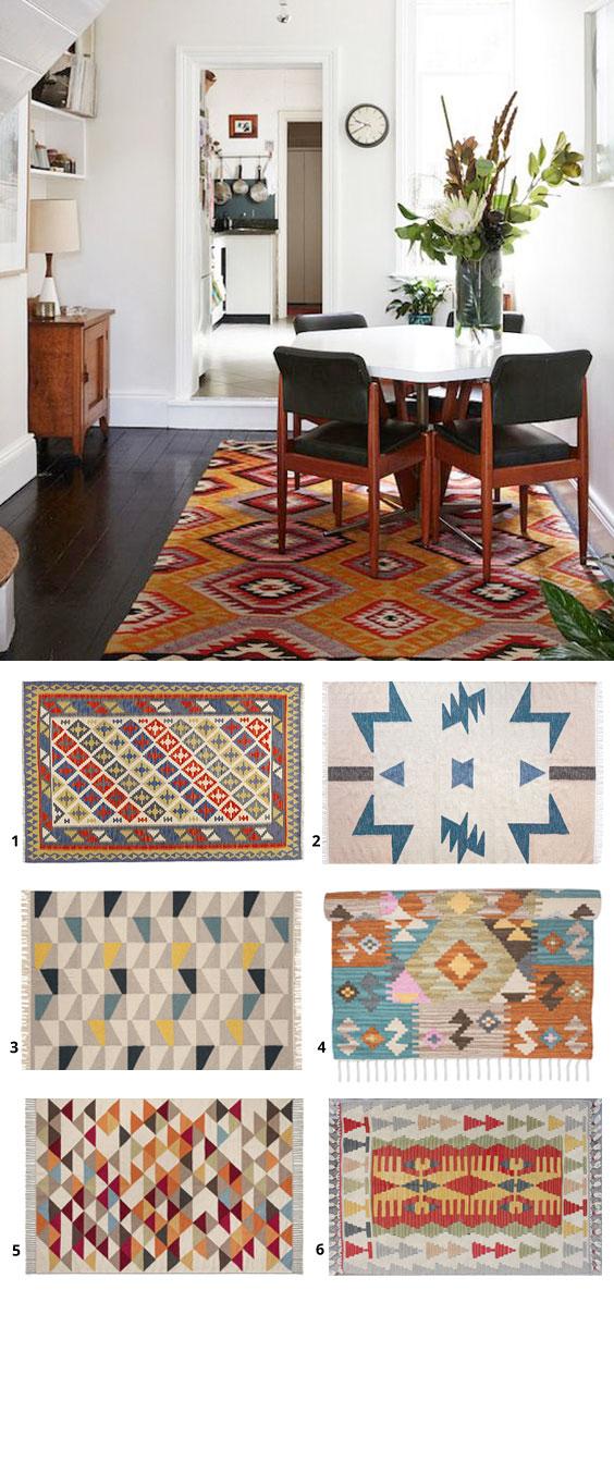 August Rug Edit: The Kilim rug