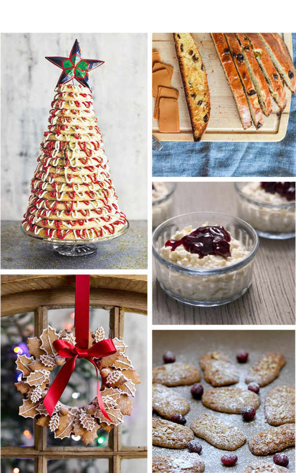 Sweet Scandinavian recipes for a Christmas spread
