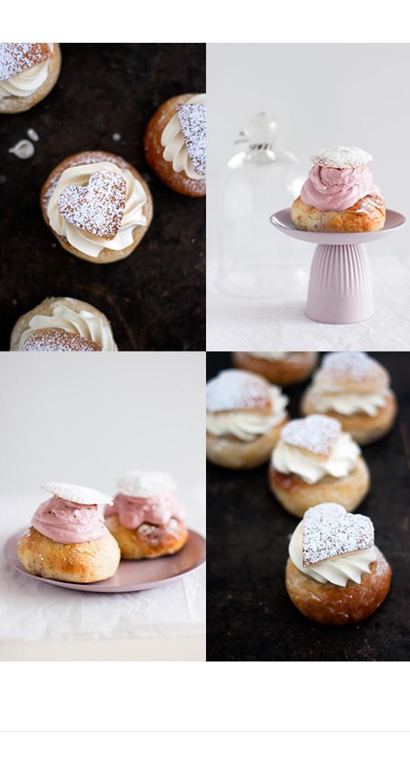 Fettisdagen and Valentines day combined, semlor buns